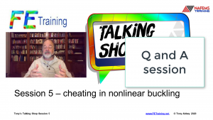 Session 5: Nonlinear buckling cheats